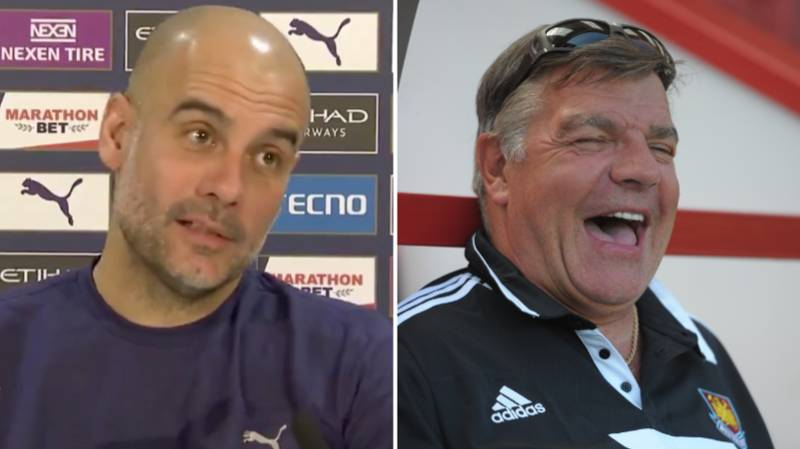 Pep Guardiola Calls Sam Allardyce 'A Genius' Ahead Of Manchester City Vs West Brom