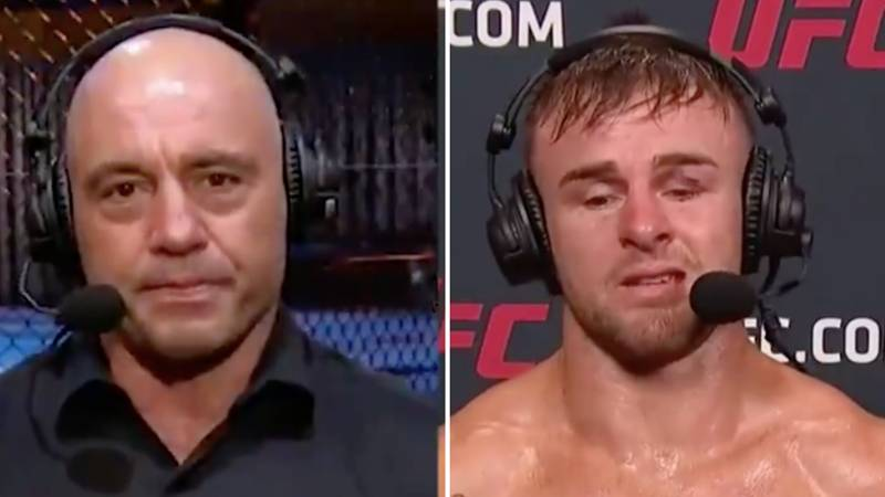 UFC's Cody Stamann Gives Emotional Post-Fight Interview After Tragic Loss Of His Brother