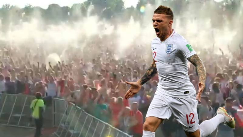 Remembering When Kieran Trippier Scored THAT Free-Kick vs Croatia At 7:05pm On July 11th