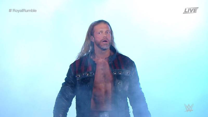 Edge Makes Incredible WWE Return At Royal Rumble