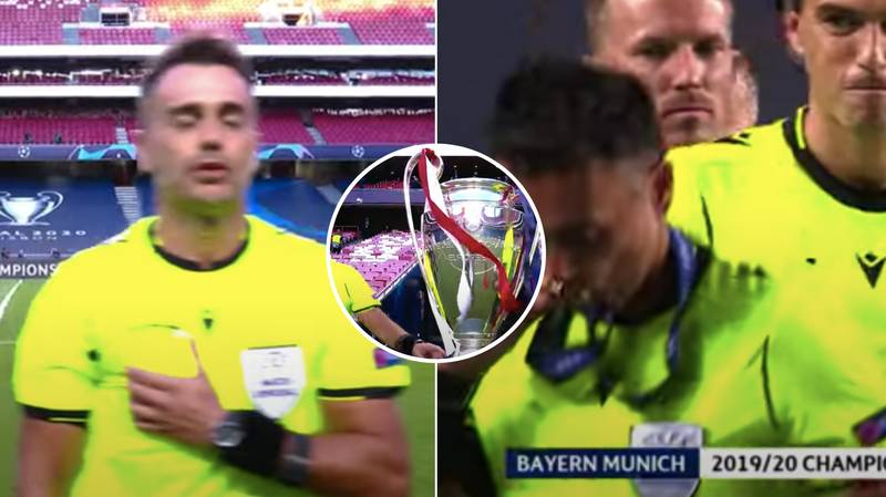 The Linesman Was The Star Of The Show In The Champions League Final