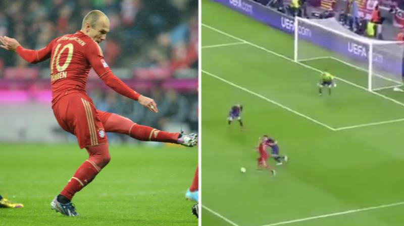 Video Of Arjen Robben Scoring The Exact Same Goal Over And Over Again Is So Satisfying
