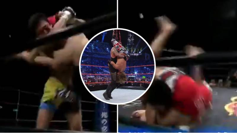 The Incredible Moment MMA Fighter Used The Undertaker's Tombstone Piledriver Finishing Move