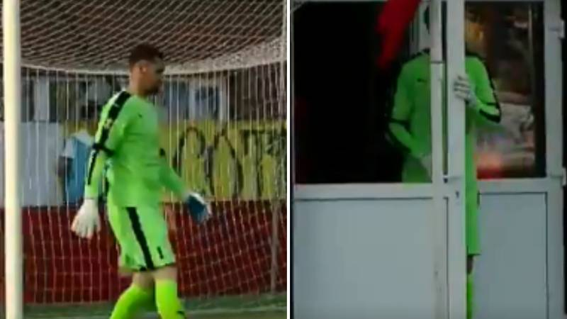 Watch: You May Have Missed The Greatest Bit Of Time-Wasting In Football