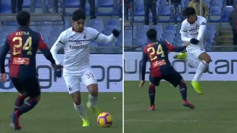 AC Milan's Lucas Paqueta Absolutely Destroys Daniel Bessa With Outrageous Rainbow Flick