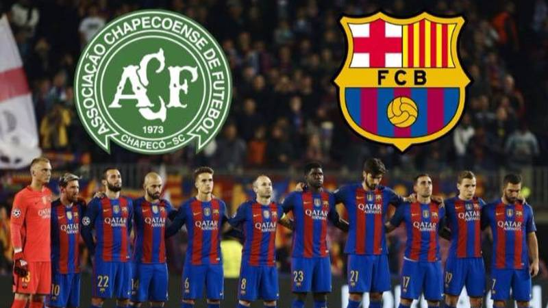 Barcelona Were The Only Team To Provide Chapecoense With Financial Aid