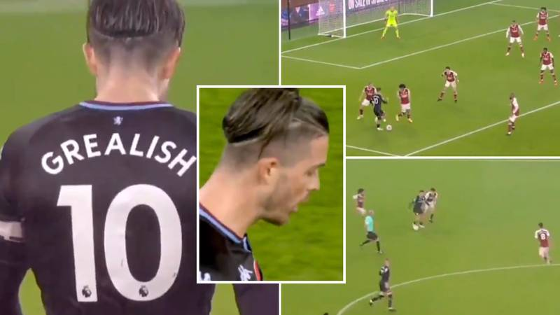 Jack Grealish's Individual Highlights For Aston Villa Vs Arsenal Prove He's One Of England's Best Midfielders