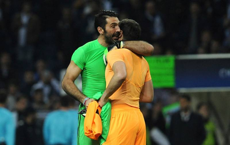 Casillas Reveals What Buffon Said To Him After Champions League Defeat