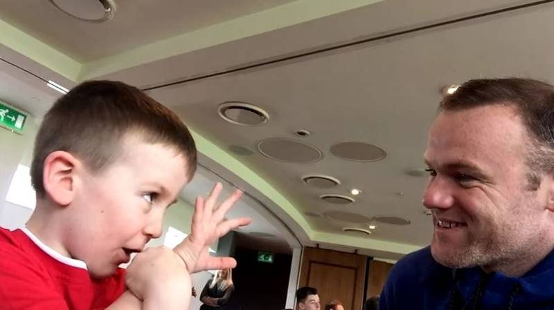 WATCH: Manchester United Stars Make Young Fans' Dream Day Come True