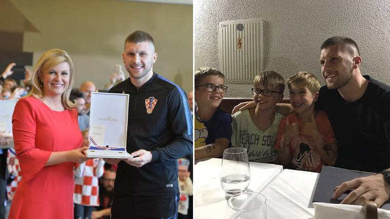AC Milan's Ante Rebic Is One Of The Most Generous Footballers In The World