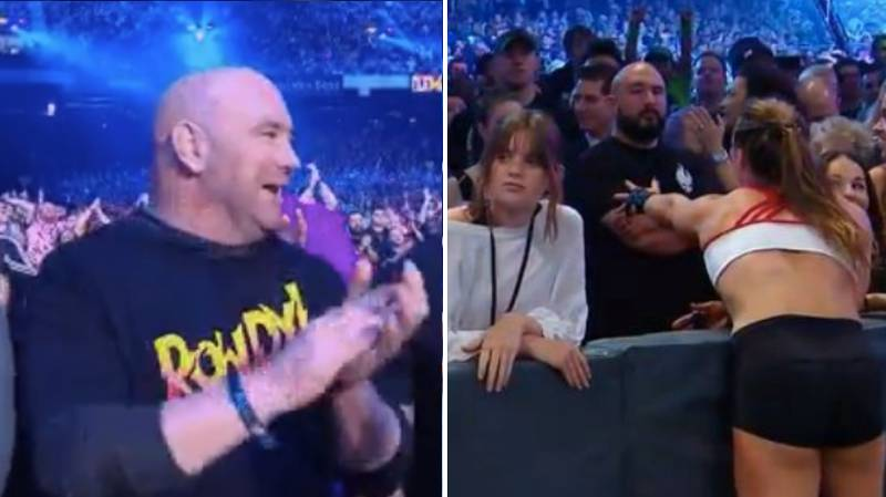 Dana White Really Enjoyed Ronda Rousey's WWE Debut