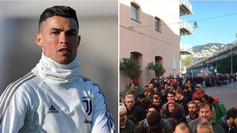 Genoa Fans Ask For Refund On Tickets After Learning Cristiano Ronaldo Will Not Play