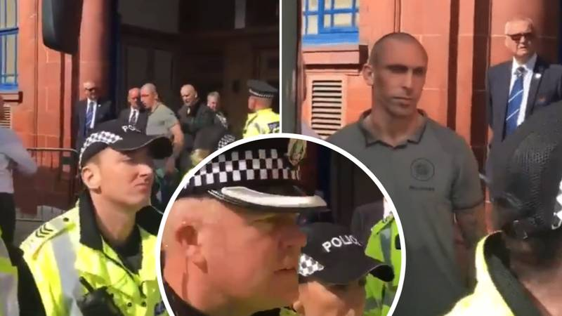 Evil Rangers Fan Targets Celtic's Scott Brown With Sick Taunt About The Death Of His Sister