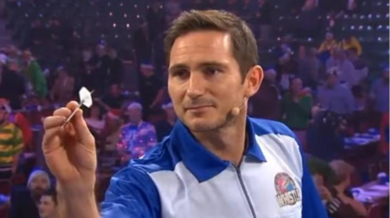 Frank Lampard Tries His Hand At Darts And The Results Are Disastrous