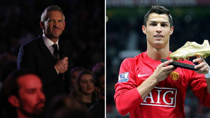Gary Lineker Claims Cristiano Ronaldo Is Greatest Ever Premier League Player