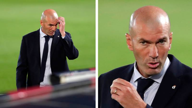 Zinedine Zidane Makes Shock Retirement Plans After Being 'Worn Out' By Real Madrid Job