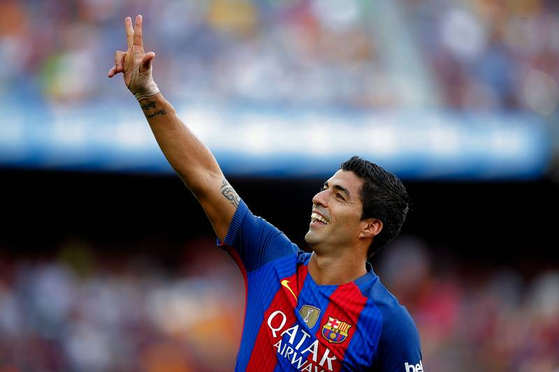 WATCH: Luis Suarez Tears Real Betis Apart As He Bags A Hat-Trick