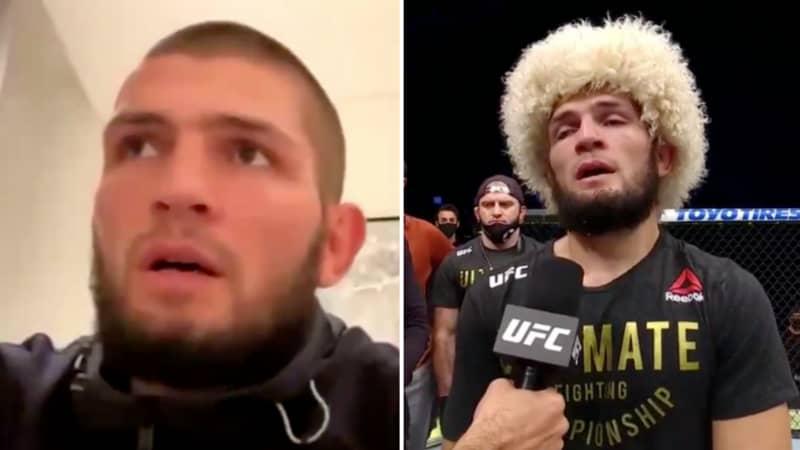 Khabib Nurmagomedov's Interview Two Weeks Before UFC Retirement Goes Viral