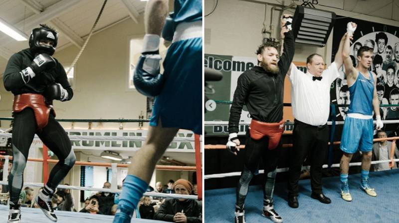 Conor McGregor Warms Up For UFC Return With Exhibition Boxing Fight