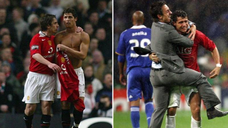Gary Neville Explains What 'Big Problem' Cristiano Ronaldo Had With Life At Manchester United