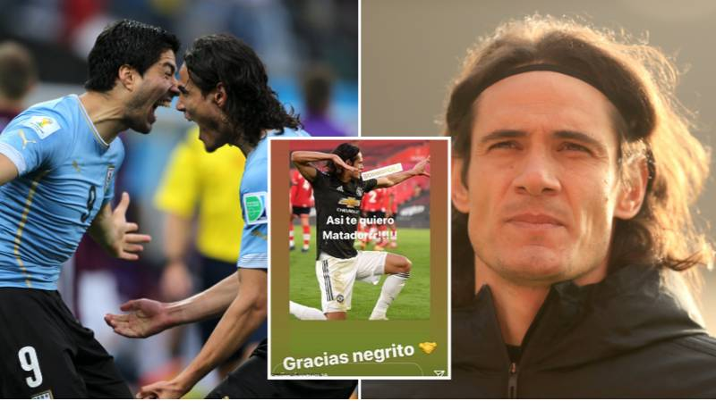Luis Suarez Slammed For Sharing Uruguayan PFA Statement Defending Edinson Cavani