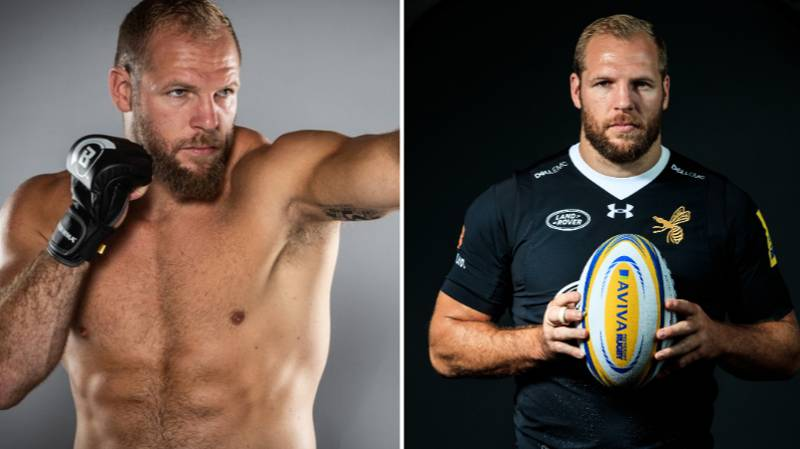 James Haskell Jokes His Grandma Is Perfect First Bellator Opponent