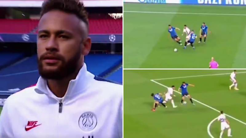 Neymar's Individual Highlights For PSG Vs Atalanta Prove He's Always Been A World Class Player