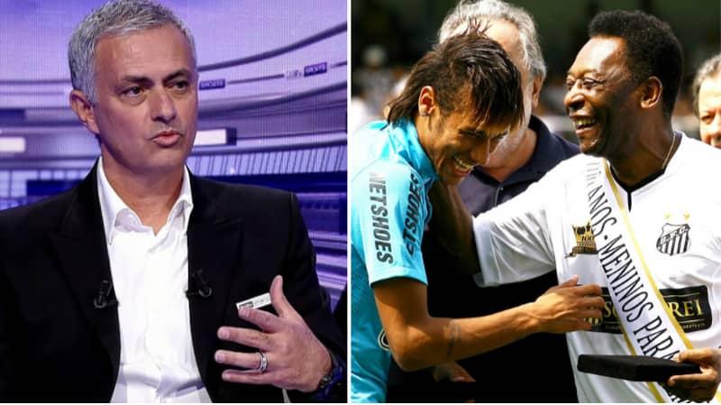 Jose Mourinho Has His Say On Whether Neymar Is The Greatest Brazilian Player Since Pele
