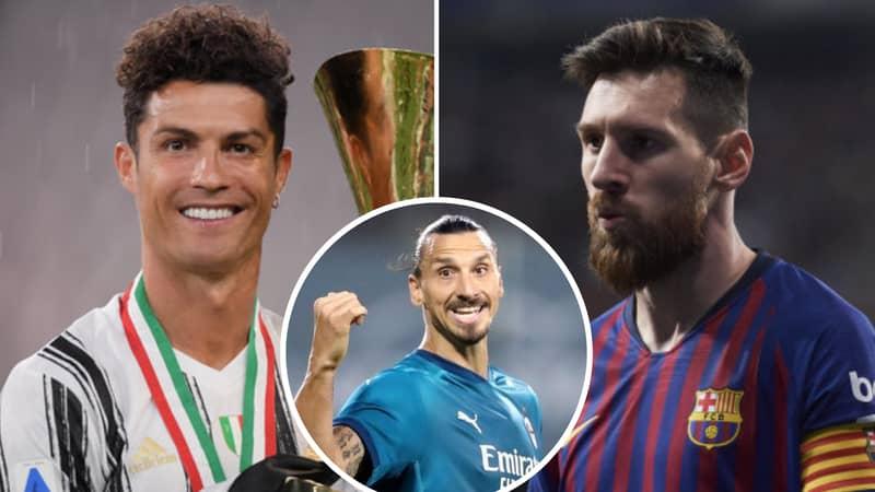 Zlatan Ibrahimovic Gives The Perfect Response On Cristiano Ronaldo Vs Lionel Messi Debate