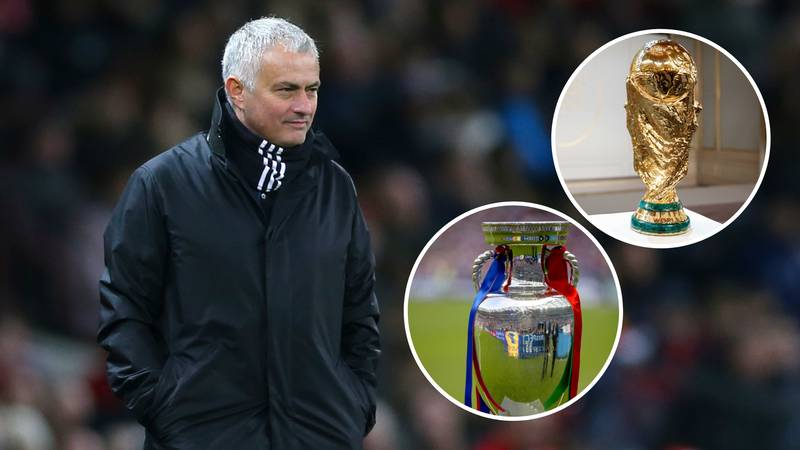 José Mourinho Wants To Compete In World Cup And Euros With A National Team