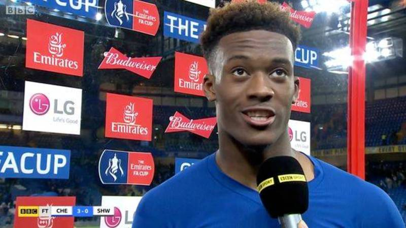 What Chelsea Fans Were Chanting Towards Callum Hudson-Odoi After Post-Match Interview