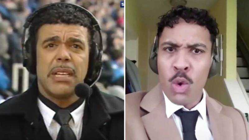 Chris Kamara's Infamous Red Card Miss Recreated In Hilarious Video
