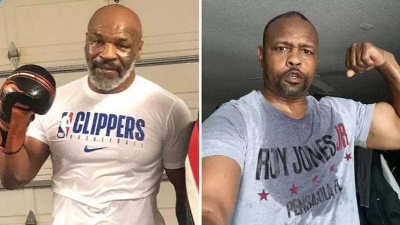 Mike Tyson And Roy Jones Jr Will Fight For A Sanctioned Title Belt