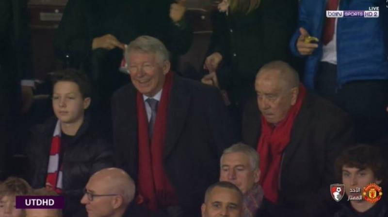 Sir Alex Ferguson Smiling Again At Old Trafford Is A Wonderful Sight