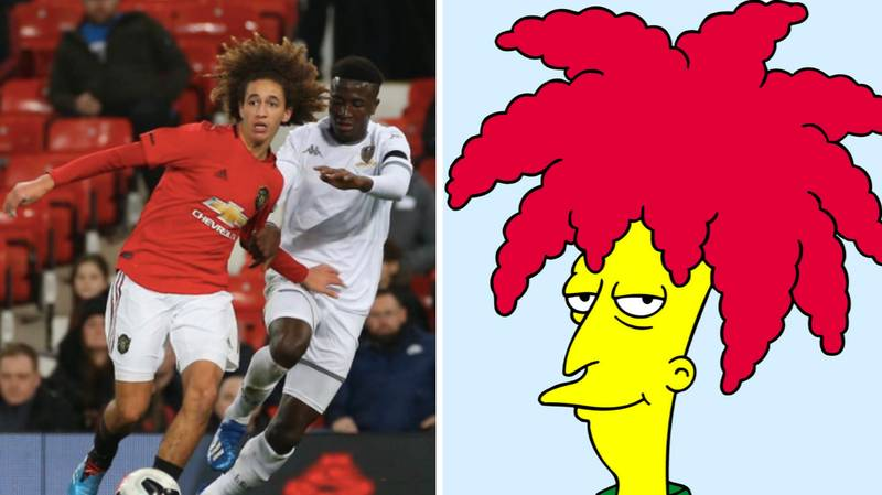 Manchester United Youth Player Has Brilliant Response To 'Sideshow Bob' Chants