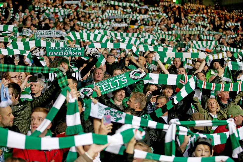 Chelsea And Man United Hoping To Mimic Celtic's Safe Standing Section