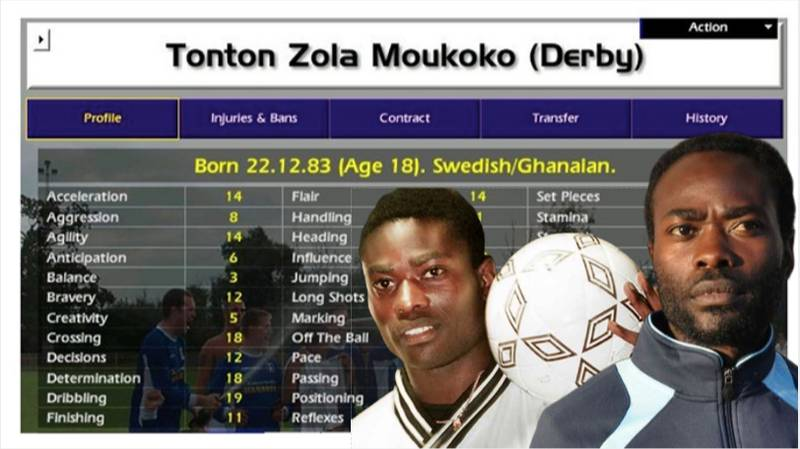 What Happened To Tonton Zola Moukoko? The Greatest Championship Manager Player Of All Time