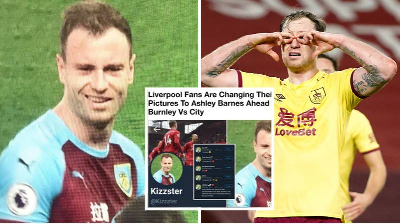 Liverpool Fans Brutally Mocked For Changing Their Profile Pictures To Ashley Barnes After He Ended Their Unbeaten Run At Anfield