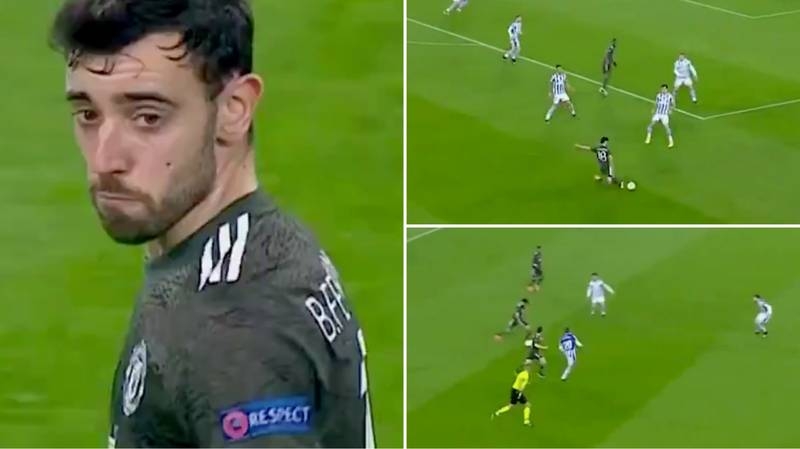Compilation Of Bruno Fernandes Highlights Shows How Good He Was Vs Real Sociedad