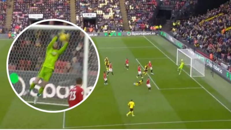 David De Gea Produces Howler To Gift Watford Goal Against Manchester United