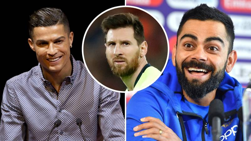 Virat Kohli Snubs Lionel Messi By Calling Cristiano Ronaldo 'The Most Complete Player'
