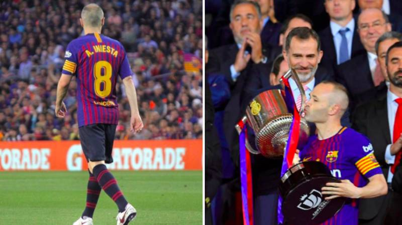 Andres Iniesta Has Played His Final Game For Barcelona