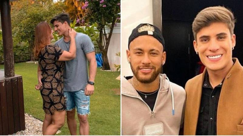 Neymar's Mother Is 'Dating' A 22-Year-Old After Splitting From Husband
