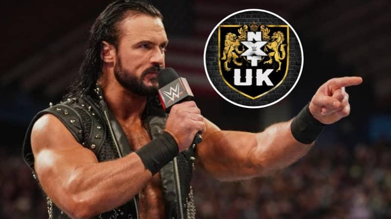 Drew McIntyre Keeps Telling Triple H To Put Him On NXT UK