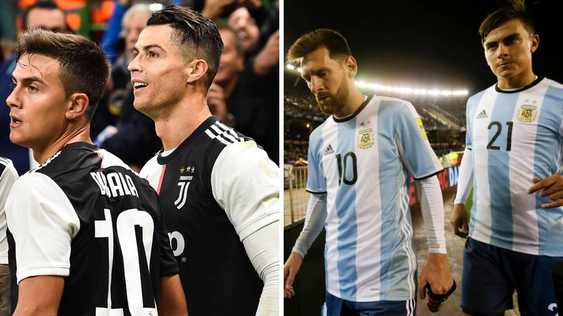 Paulo Dybala Discusses Playing With Both Cristiano Ronaldo And Lionel Messi