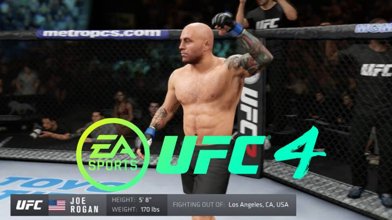 Why Joe Rogan Isn't Appearing In EA Sports UFC 4