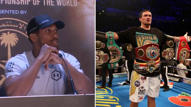 Anthony Joshua Responds To Being Ordered To Fight Oleksandr Usyk