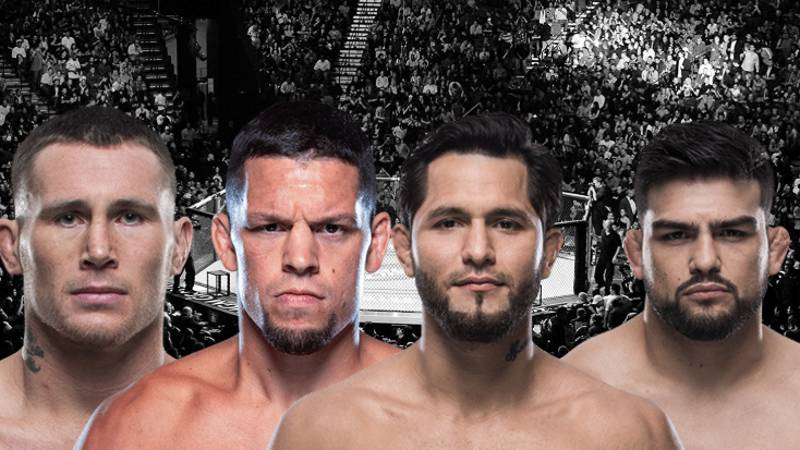 The UFC 244 Main Card In New York Headlined By Diaz Vs. Masvidal Is Seriously Stacked