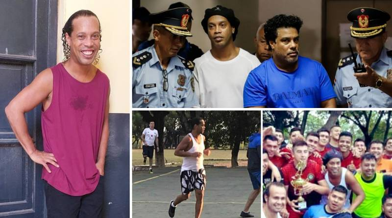 Brazil Legend Ronaldinho Has Transformed His Life Since Leaving Prison Four Months Ago