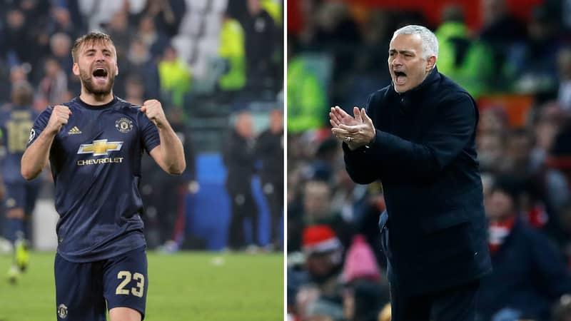 Luke Shaw Issues Defiant Response To José Mourinho's Brutal Criticism